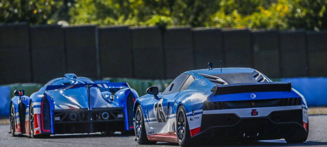 Shooting Ligier JS2R + JSP4 2019 at Magny-cours July 9 - Photo Jean Michel Le Meur / DPPI
