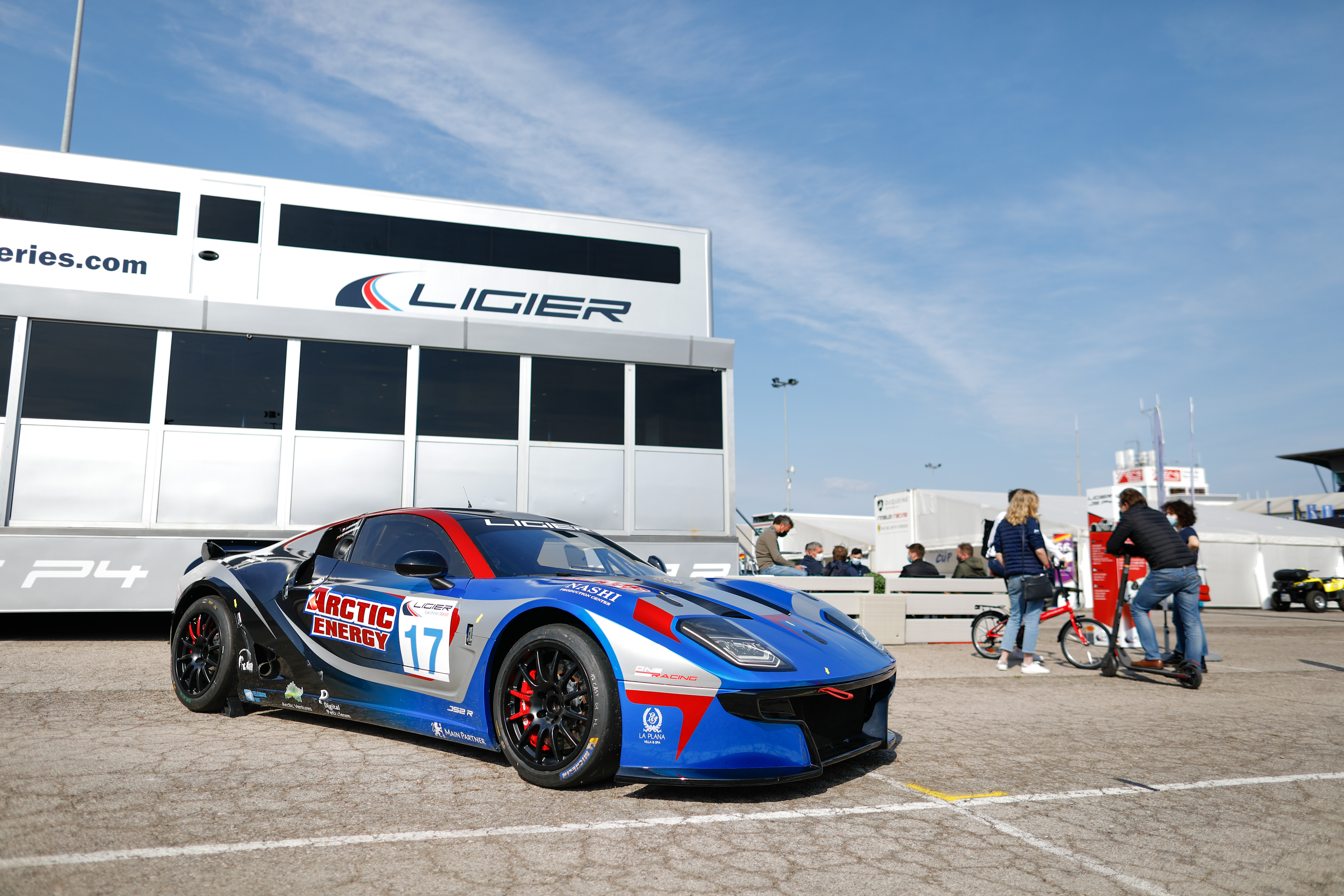 , during the Heat 1 - Barcelona of the 2021 Ligier European Series, from April 15 to 17, 2021 on the Circuit de Barcelona-Catalunya, in Montmelo, near Barcelona, Spain - Photo Frédéric Le Floc'h / DPPI