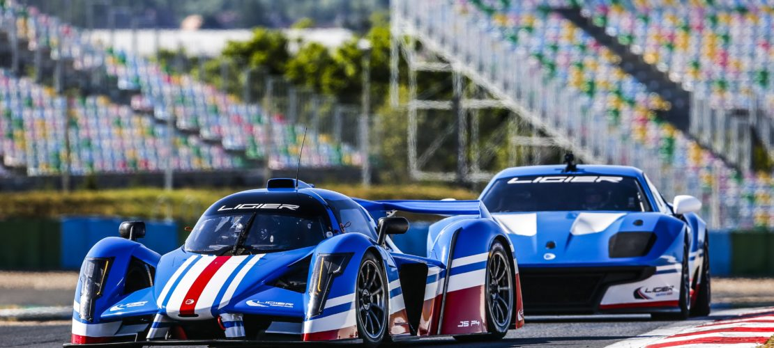 Shooting Ligier JS2R + JSP4 2019 at Magny-cours July 9 - Photo Jean Michel Le Meur / DPPI